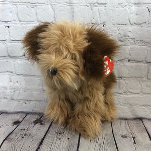 Ty Classics Jax the Brown and Tan Plush Dog
